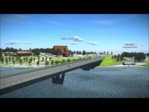 Ny bro över Kalix älv i Kalix | Trafikverket
