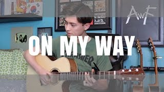 On My Way - Alan Walker, Sabrina Carpenter & Farruko - Cover (fingerstyle guitar) PUBG
