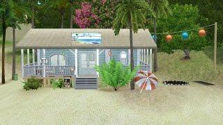 Sims 3 Community Lot Building - Salty Plate Beach Bar