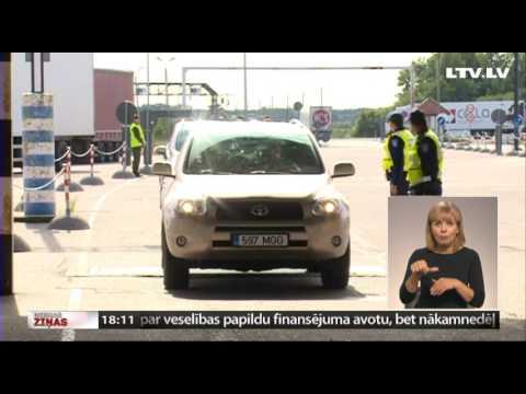 Igaunija uz divām dienām atjauno robežkontroli ar Latviju