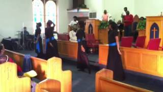 Israel Houghton- All Around ft. Temple Liturgical Dancers