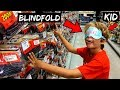 BLINDFOLDED KID Picks My Lures Fishing CHALLENGE (FUNNY!!!)