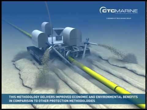 Ctc Marine Rt 1 Rock Trencher Animation Youtube
