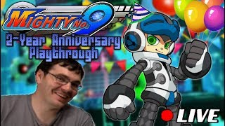 The Mighty No. 9 Two-year Anniversary Stream (by GigaBoots)