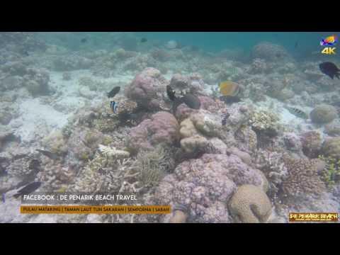 Pulau Mataking   Semporna   Sabah 4K Go Pro