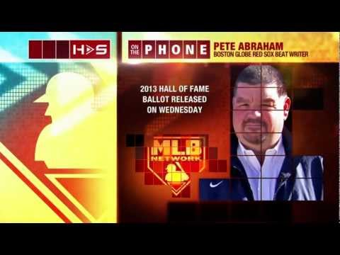 Pete Abraham Joins Hot Stove to Discuss the Hall of Fame and Steroids