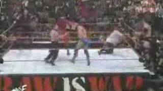 The Rock Shamrock and Mankind vs Undertaker and Kane Part 2