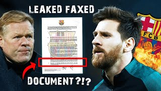The REAL Reason Messi Wants To Leave Barca