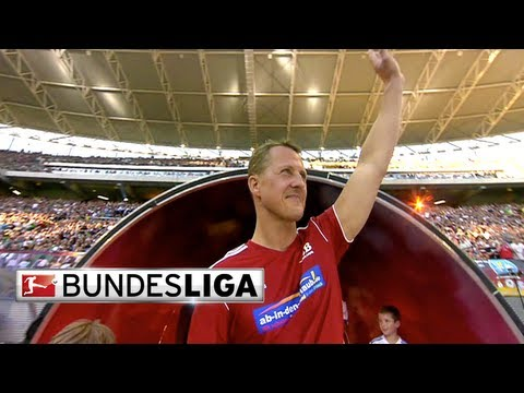 Michael Schumacher - Formula 1 Champion and Bundesliga Fanatic