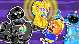 Lion Family Official Channel 💋 Enchanted #5. Thanos Gauntlet | Cartoon for Kids