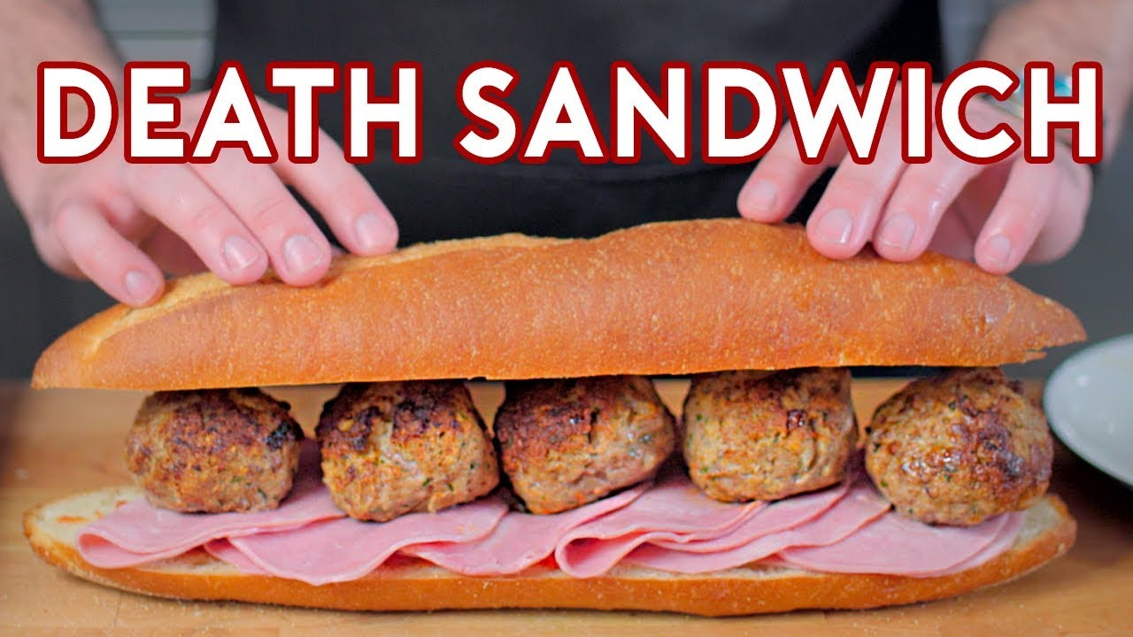 Binging With Babish 4 Million Subscriber Special Death Sandwich From Regular Show