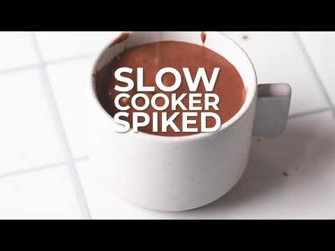 Mexican Spiked Hot Chocolate Cocktail