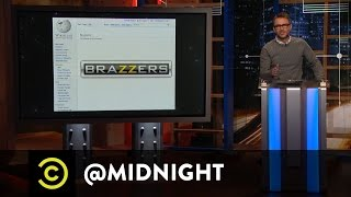 Brazzers's Law - @midnight with Chris Hardwick