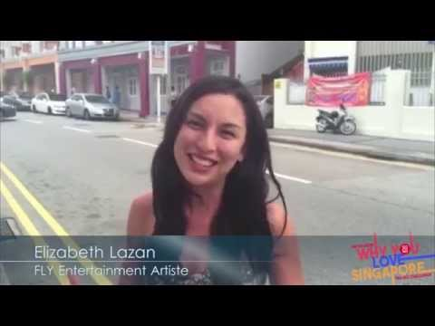 Elizabeth Lazan FLY Entertainment Artiste