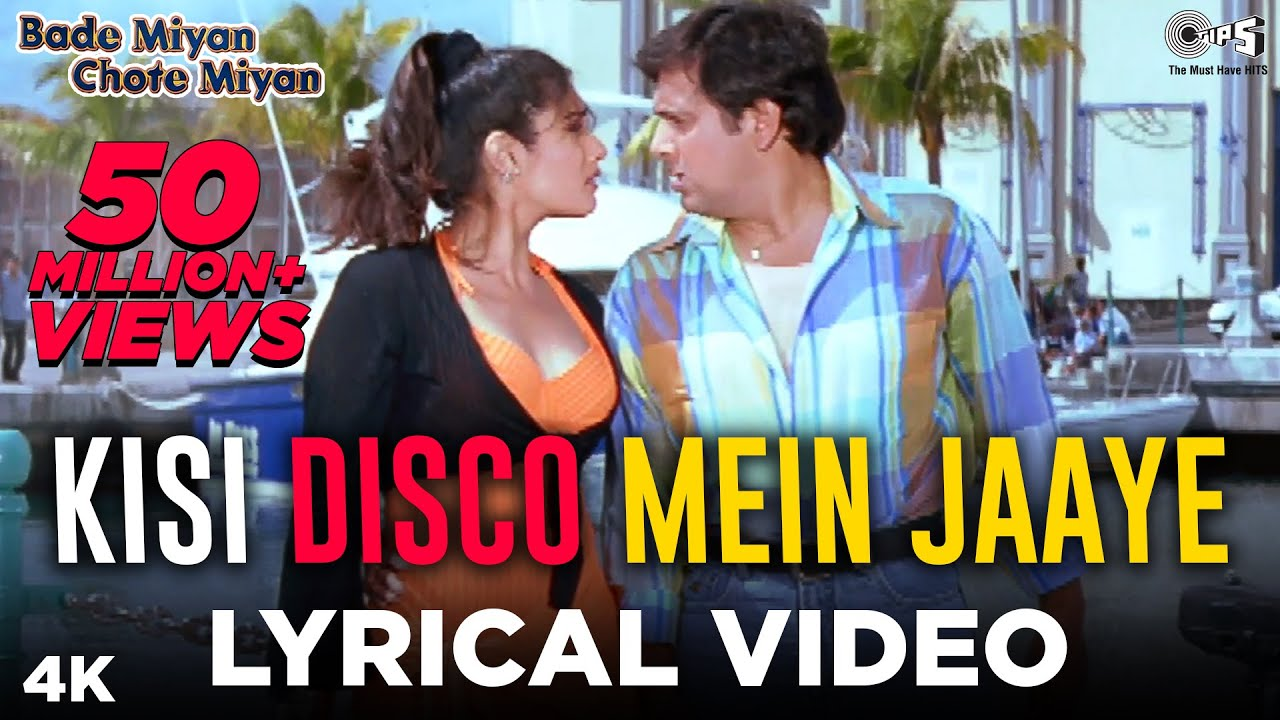 Download Kisi Disco Mein Jaaye : Lyrical | Bade Miyan Chote Miyan | Govinda | Raveena Tandon | Hindi Songs