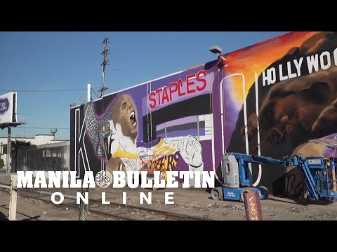 Street-artists-pay-tribute-to-Kobe-Bryant-on-first-anniversary-of-his-death
