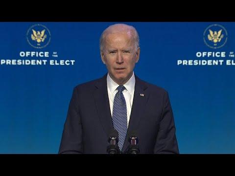 Biden: Riots a culmination of Trump's 'unrelenting attack' on democracy