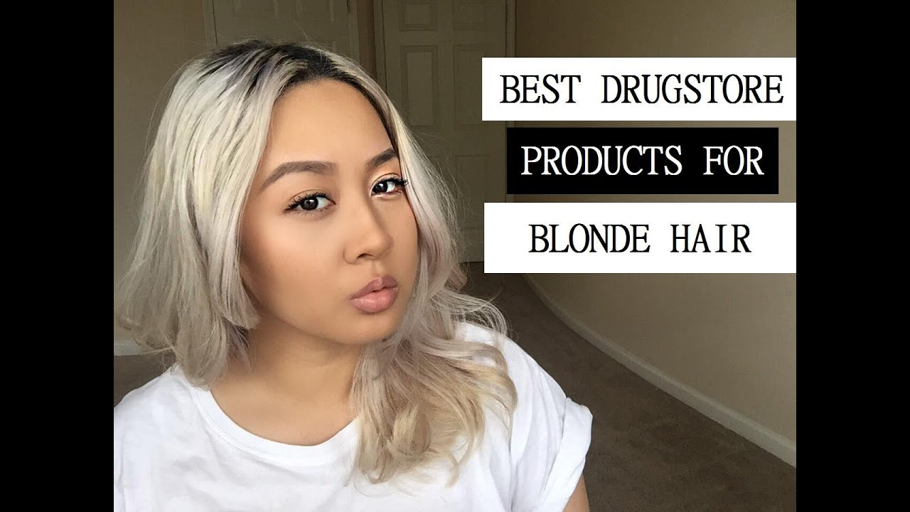 BEST DRUGSTORE PRODUCTS FOR BLONDE/SILVER HAIR | sincerely lynn ...