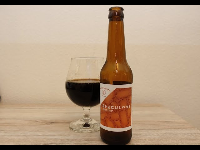Whitefrontier Speculoos Sweet Stout - Just Another Beer Review #001