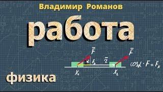 физика РАБОТА видеоурок