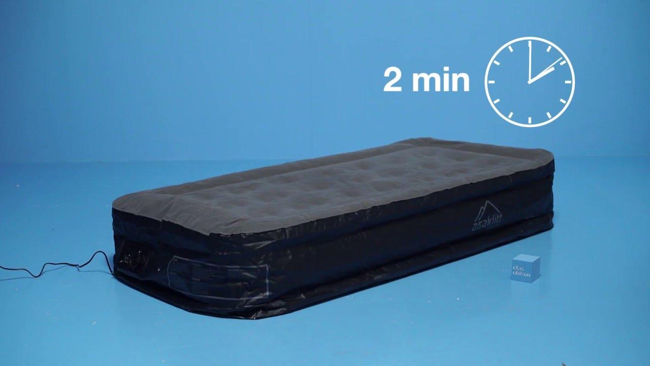 uppblåsbar madrass clas ohlson