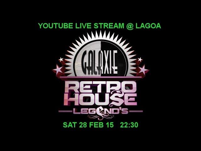 Galaxie retro house legends 12 @ Lagoa 28/02/15