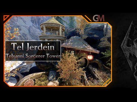 SKYRIM [LE] | Тель Джердеин - Башня Колдуна Телвани