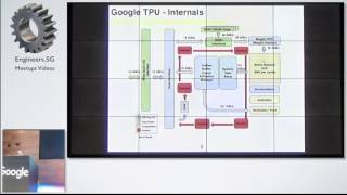 Tensor Processing Unit from Google - TensorFlow and Deep Learning Singapore