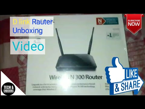 D-LINK ROUTER UNBOXING | & REVIEW | PRICE IN BD | TECH & UNBOXING