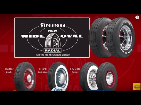 firestone wide oval radial tires coker