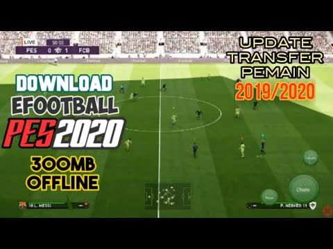 Download Game PES 2020 Mobile 300MB Offline Mod Apk Data Unlimited Money