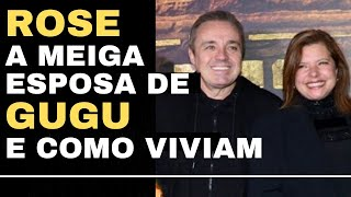 GUGU AND ROSE - his sweet wife and goodbye Augusto Liberato - family - children - silvio santos