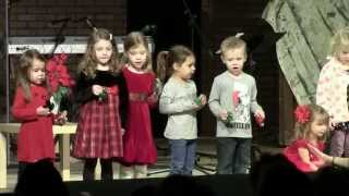 Ella Sings her first Christmas Show