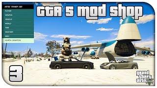 GTA 5 MOD SHOP #3 - North Yankton, Hydraulics, Vehicle Controller & Bodyguards!