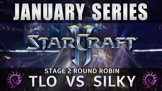 TLO vs Silky [ZvZ] Round Robin Stage 2 - January Series - Starcraft 2