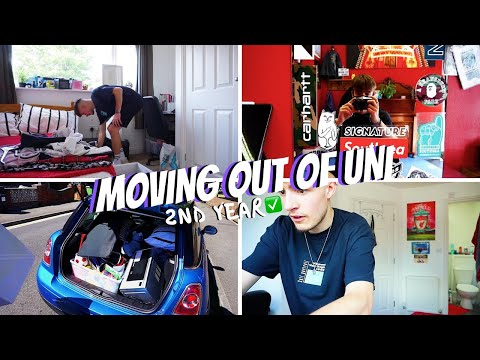 Moving Out Of My University House & More // University Of Portsmouth