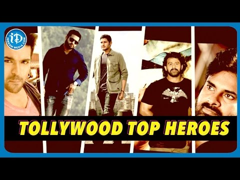 Top Heroes of Tollywood - Best Actors in Telugu Film Industry