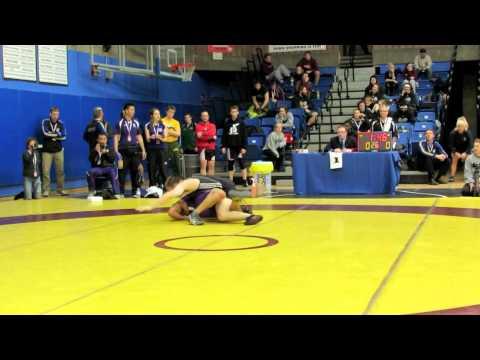 CIS Championships 2012: 72 kg Sammy Hanna vs. Ryan Myrfield