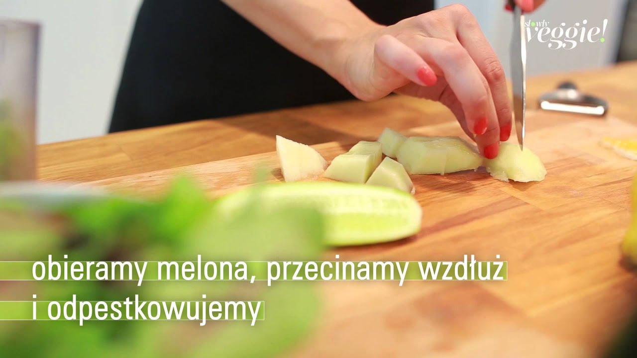 """Jak zrobić smoothie """"Zielony Poranek"""""""