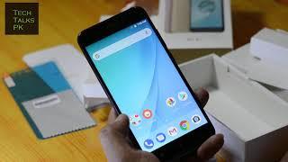Xiaomi Mi A1 Quick Unboxing - TechTalksPakistan