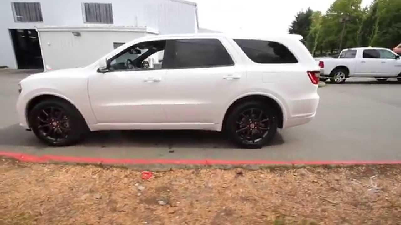 2015 Dodge Durango RT AWD  Bright White  FC105982  Redmond