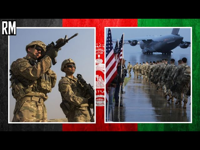 US Left Airbase in Bagram, Afghanistan at Night Without Notice