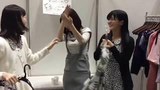 NGT48太野彩香(アヤカニ)、村雲颯香(もふちゃん)の衣装選びに巻きこられ...