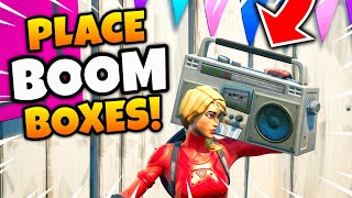 Fortnite BOOMBOXES in Believer Beach Locations! - Place Boomboxes in Believer Beach Guide (Week 3)