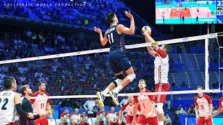 Most Unbelievable and Unexpected moments in Volleyball 2019