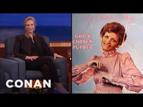 Jane Lynch's Odd Album Covers Collection   CONAN on TBS