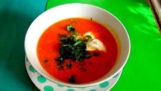 Тыквенный суп-пюре с курицей легко и просто.