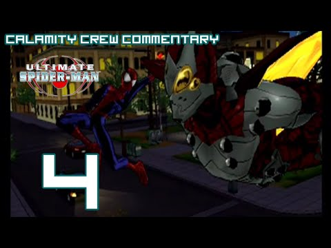 Ultimate Spider-Man (PS2) - Part 4: Spider vs Firefly Bug Battle
