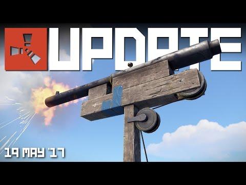 NEW SHOTGUN TURRET TRAP | RUST update news 19th May 2017