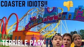 Coaster Idiots Go To México's WORST Amusement Park - La Feria Chapultepec Mágico